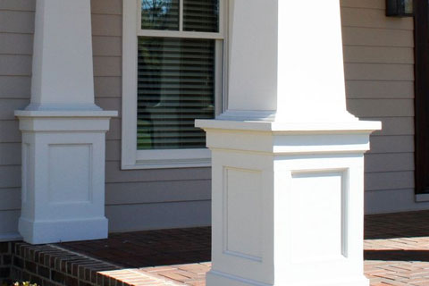 PVC exterior trim and accents