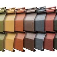 Mitten & Gentek vinyl siding colours